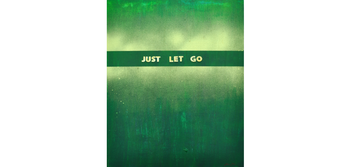 Just let go 33 x 41 cm